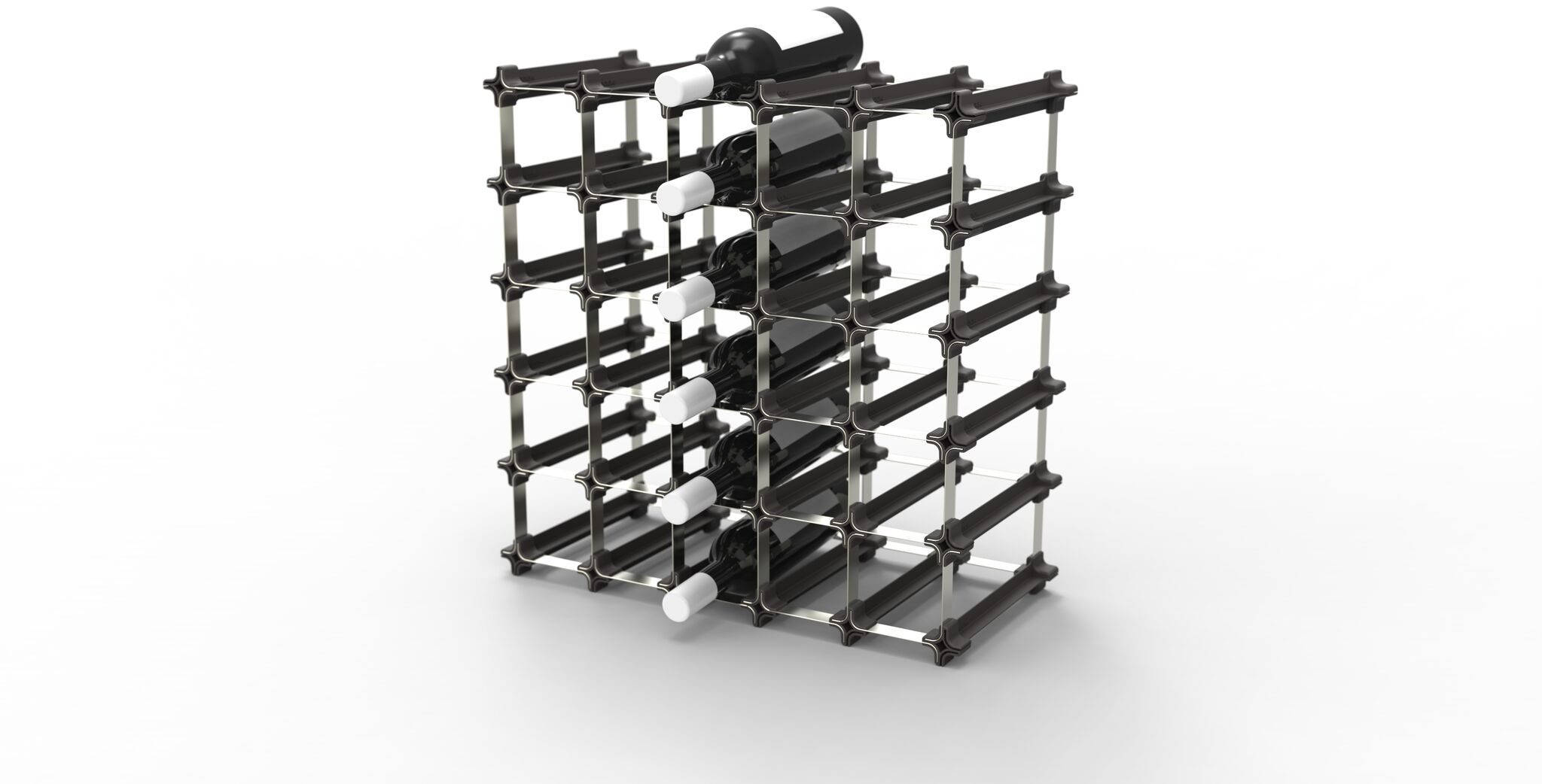 wine rack wine storage kit